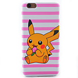 Painted Carved Matte Pokemon Pattern PC Material Hard Case For iPhone 6sPlus 6Plus 6S 6 5S 5 SE