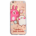 Per Custodia iPhone 6 / Custodia iPhone 6 Plus Fantasia/disegno Custodia Custodia posteriore Custodia Con animale Morbido TPU AppleiPhone
