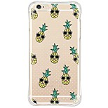 Pineapple Back Shockproof/Dust proof/Waterproof/Transparent TPU Soft Case For i6s Plus/6 Plus/6s/6/SE/5S/5