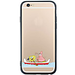Pattern Cartoon TPU+PC Soft Case Back Cover Transparent Cover For Apple iPhone 6s Plus/6 Plus/iPhone 6s/6/iPhone SE/5s/5