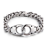 2016 Kalen New Arrival Fashion Jewelry 316L Stainless Steel Link Chian Bracelet For Male
