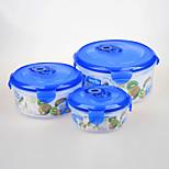marca yooyee regalo promocional de la forma redonda de vacío del envase de alimento