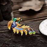 DIY Jewelry Phoenix Style Gold Plated Charm