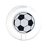 White Football Style Qi Wireless Charger Basketball for Samsung Galaxy S6 /S6 Edge G9250 Apr26