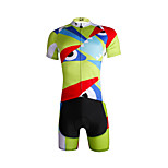 Breathable Paladin Summer Male Short Sleeve Cycling Jerseys Suit 100% Polyester DT661 Not Great Eyes