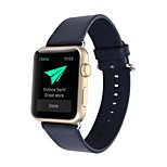 Newest Classic Buckle Watchband Simple PU for iWatch Watchband 38mm/42mm