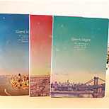 South Korea Stationery Cute Notebook 16K Large B5 Diary Writing This Series Star City