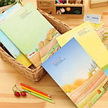 Di Chen Cute B5 Large Notepad 16K Green Years Diary Notebook Sub