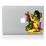 Sexy Naked Women Decorative Skin Sticker for MacBook Air/Pro/Pro with Retina