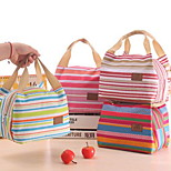 Korean Factory Outlets I Stripe Thicker Insulation Bag Lunch Bag Lunch Bags Portable Insulation Boxes Custom Pack