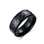 Ring/Band Rings/Stainless Steel Rock Men's Rings Black Jewelry