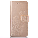 PU Leather Material Campanula Embossing Pattern Mobile Phone Cases for Huawei P9 Plus/P9 Lite/P9/P8 Lite/P8