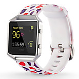 Painted Silicone Strap for Fitbit Alta/Fitbit Blaze/Fitbit Flex