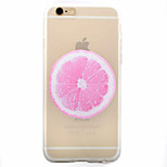 Para Funda iPhone 6 / Funda iPhone 6 Plus Congelada Funda Cubierta Trasera Funda Fruta Suave TPU Apple iPhone 6s Plus/6 Plus / iPhone 6s/6