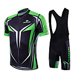 Sports Bike/Cycling Jersey + Bib Shorts / Clothing Sets/Suits Men's / Unisex Short SleeveBreathable / Quick Dry