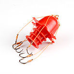 Fishing-1000 pcs White / Yellow / Red Hard Plastic / Carbon steel-AnmukaSea Fishing / Ice Fishing / Jigging Fishing / Freshwater Fishing