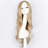 Light Blonde Long Curly Wave Synthetic Wigs For Fashion Women Fashion Women/Ladies Light Blonde Wavy Cosplay wig