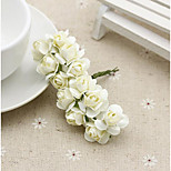 Handmade Diy Materials Simulation Azalea / Rose Paper Flowers / Paper Flower Garland Wreath / Cake Decorative Paper 144