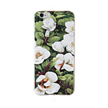 Full Body /Frosted / Embossed / Pattern /Flower13 TPU Soft with Lanyard Case Cover For iPhone 6/6s/6plus/6s plus