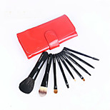 9Pcs Selling High Quality Huang Pointed Wool Makeup Brush