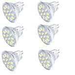 YouOKLight 6PCS MR11 3W Warm White/White 3000K /6000K 250lm 12-SMD5733 LED Spotlight(AC/DC12V)