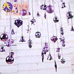 Christmas Decorations Christmas Barrels Of High-Grade Purple Ball / Lob Window Dressing 88
