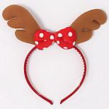 Nuoqi Christmas Decorations Christmas Christmas Elk Antlers Headband Buckle Christmas 20G