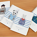 9749 Korea Stationery B5 Loose-Leaf Notebook Roll Coil Diary Book Notepad