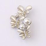 Europäische und amerikanische Mode Zirkon Perlenbrosche Serie 024