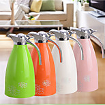Continental Colored Plastic Stainless Steel Thermal Pot Coffee Pot Thermos Of Boiling Water Salute New Gifts