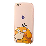 Platypus Cartoon Pattern PC Material Phone Case for iPhone 5 5S 5E 6 6S 6 Plus 6S Plus