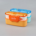 YEEYOO Brand with Spoon Plastic Promotion Lunch Box China Factory