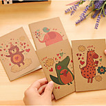 Taobao Hot Explosion Models Korean Stationery Small Book Interest In Playing Time Car Notepad