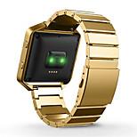 1:1 Original Design Metal Links + Frame For For Fitbit Blaze Watch Tracker Band Adjustable Watch Band Bracelet Strap