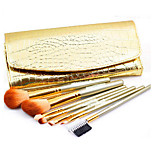 7 Makeup Brushes Set Horse Portable Metal Face Others