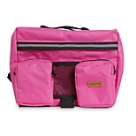 Dog Dog Pack Pet Carrier Portable Black Pink Nylon