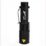 Eclairage de Velo,Eclairage de bicyclette/Eclairage vélo-1 Mode 100 Lumens Facile à transporter Autrex1 USB / Batterie Cyclisme/Vélo Noir