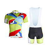 Cycling PaladinSport Men Shirt + Straps Shorts Suit DX661 Not Great Eyes