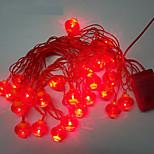 10M 24LED Red Lantern String Lights