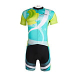 PaladinSport Men 's Cycyling Jersey + Shorts Suit DT648 Operation 100% Polyester