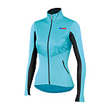 Sports Cycling Tops Women's Bike Breathable / Front Zipper / Wearable/ Ultra Light Fabric / Compression Long Sleeve