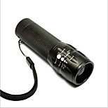 Bike Light,Flashlights-1 Mode 50 Lumens Easy to Carry AAAx3 Battery Cycling/Bike Black Bike Other JQ-012