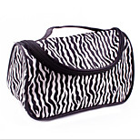 Leisure Cloth Satin Zebra Gold Hand Bag