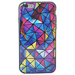 HD Painted Three-Dimensional Diamond Pattern TPU Material 2 Phone Case For iPhone SE 5s 5 6s 6 6s Plus 6 Plus