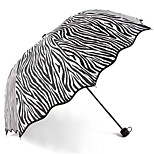 Gray Folding Umbrella Sunny and Rainy Textile Travel / Lady / Men