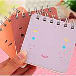South Korea Stationery Avatar Uncle Cute Face Coil Loose-Leaf Notes Of The 3740 Tear Diary