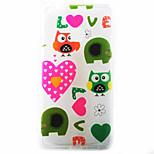 Animal Love Pattern Material TPU Phone Case for Huawei P9 P8 Lite P9 Lite