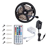 KWB Led Strip5050 16.4ft/5m Led Strip LightsRGB Led Strips Lighting Kit 44 Key Remote12V 3A