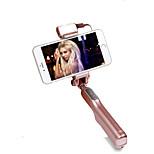 mode hy004 pliable bluetooth lumière led selfie bâton
