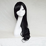 Cosplay Wig Color Black Color Cast Long Curly Hair Wig 30Inch Points